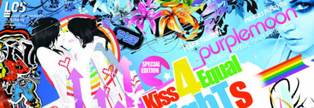 Kiss for equal rights!