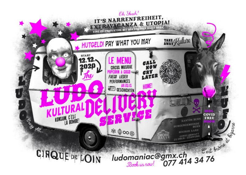 CIRQUE DE LOIN: LUDO'S CULTURAL DELIVERY SERVICE