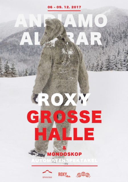 RoxyBar im Winter in der Grossen Halle