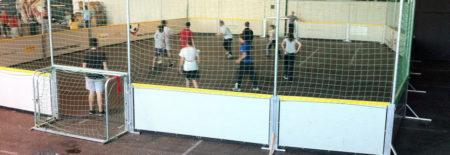 Strassenfussball als Begegnung