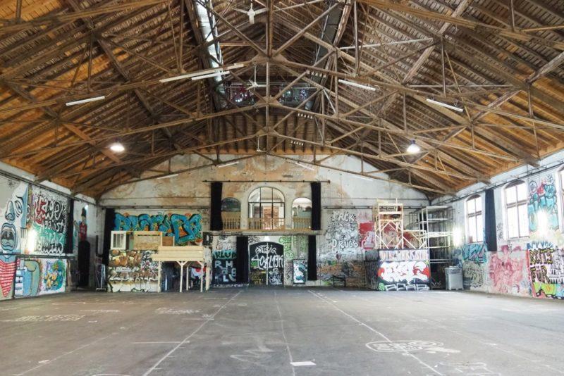 Umbau Grosse Halle